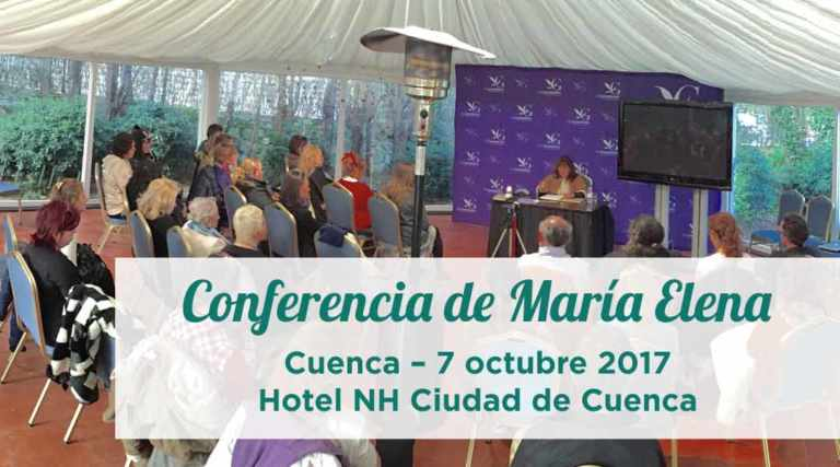 Conferencia de María Elena en Cuenca – 7 octubre 2017
