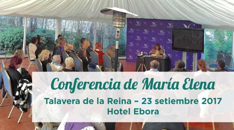 Conferencia de María Elena en Talavera de la Reina – 23 setiembre 2017