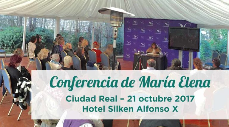 Conferencia de María Elena en Ciudad Real 21 octubre 2017
