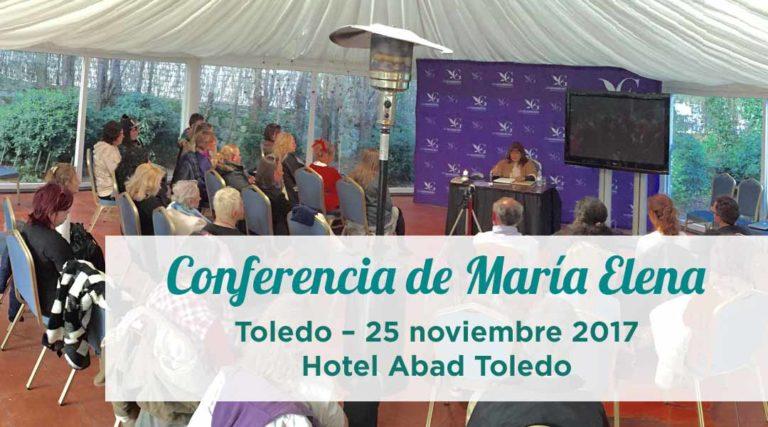 Conferencia de María Elena en Toledo – 25 noviembre 2017