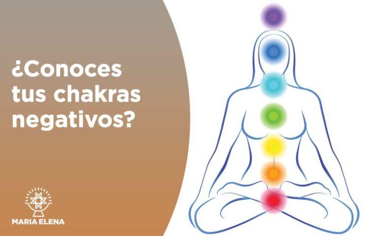 ¿Conoces tus chakras negativos?  22 – 23 – 24 marzo